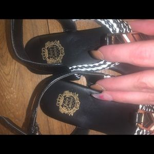 Limited edition JUICY COUTURE sandals